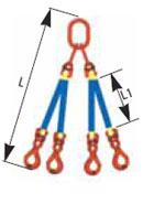 čtyřramenná sestava
